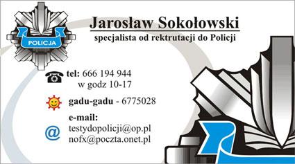 testy do policji 2019